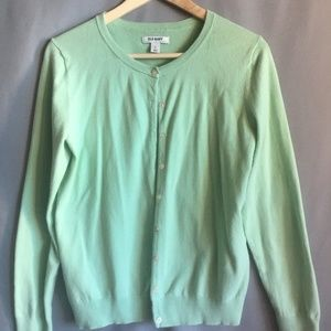 Old Navy Mint button up Cardigan
